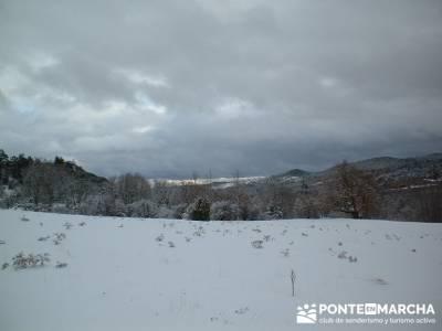 La Fuentona - Sierra de Cabrejas; clubs de senderismo en madrid; senderistas madrid